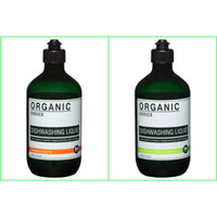 Organic Choice Dishwashing Liquid Twin Pack mybbbounce.com