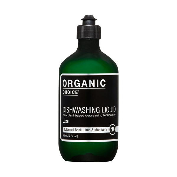 Organic Choice Dishwashing Liquid Mandarin, Lime & Basil mybbbounce.com