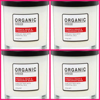 Organic Choice French Pear & Cinnamon Bark Candle Value Packs mybbbounce