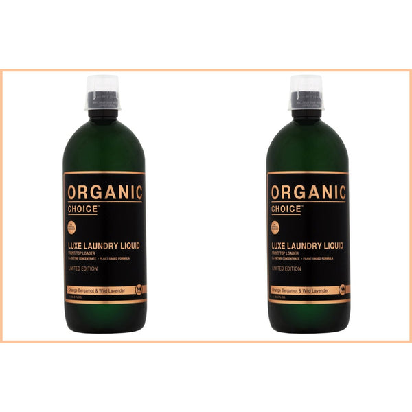 Organic Choice Orange Bergamot & Wild Lavender Laundry Liquid Twin Pack mybbbounce