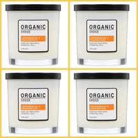Organic Choice Lemongrass & Cedarwood Pure Soy Candle VALUE PACK mybbbounce.com