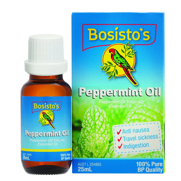Bosisto's Pure Peppermint Oil