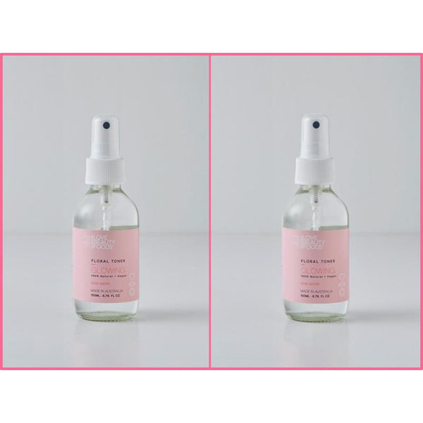 Rosewater Toner & Face Mist Hydrate & Refresh Twin Pack