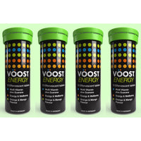 Vöost Energy Effervescent Tablets 10's Four Pack Value My BB Bounce