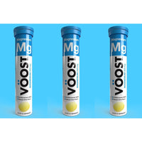 Vöost Magnesium Effervescent Tablets 20's Three Pack Value My BB Bounce