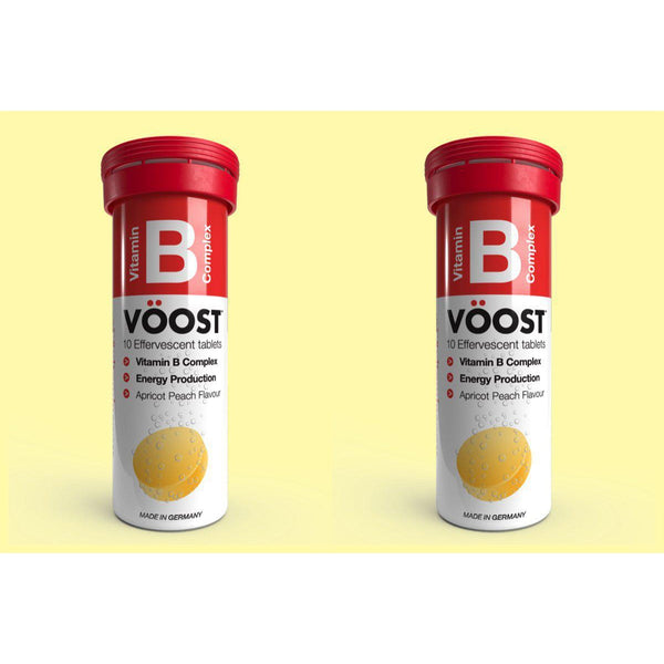Vöost Vitamin B  Complex Effervescent Tablets Duo Pack My BB Bounce
