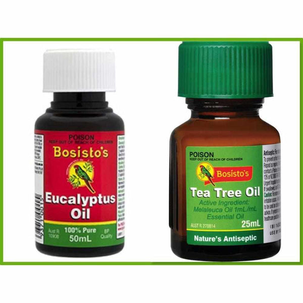 Bosisto's Eucalyptus Oil & Tea Tree Oil Duo Pack-Bosisto's-BB Bounce