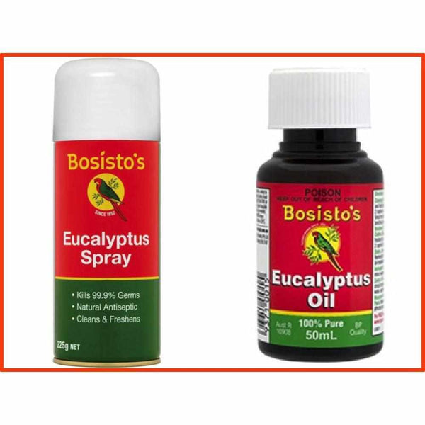 Bosisto's Eucalyptus Spray & Eucalyptus Oil Duo Pack-Bosisto's-BB Bounce