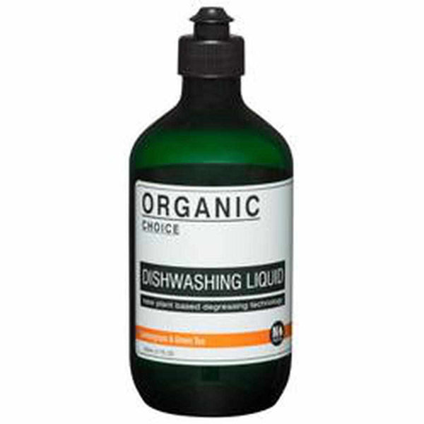 Organic Choice Lemongrass & Green Tea Dishwashing Liquid-Organic Choice mybbbounce