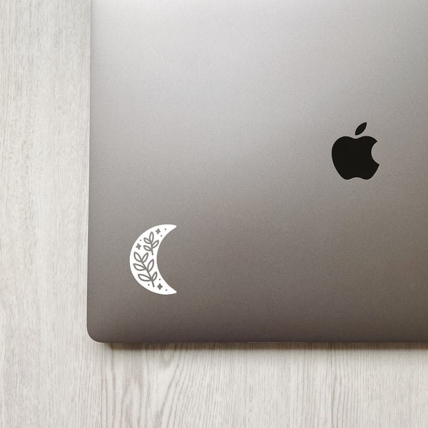 Crescent Moon Decal