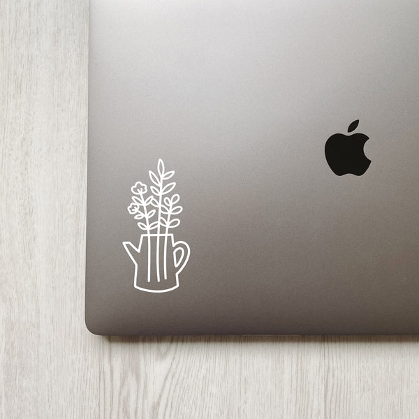 Plant Watering Can Decal