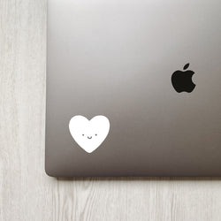 Happy Heart Decal