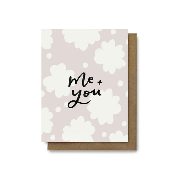Me + You Card