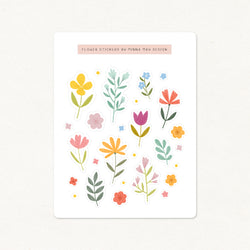 Flower Stickers