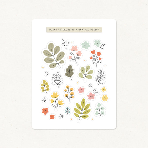 Plants Sticker Sheets