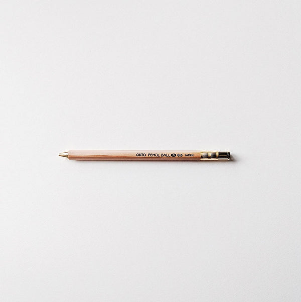 OHTO Japanese Gel Pen Pencil Ball 0.5mm - Natural
