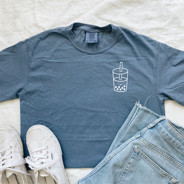 Cute Boba Drink Graphic Tee