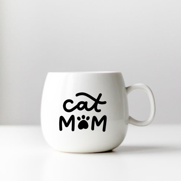 Cat Mom Decal