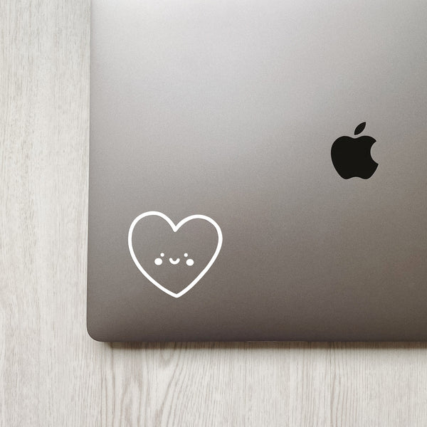 Cute Heart Decal