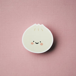 Dumpling Bun Decal Sticker