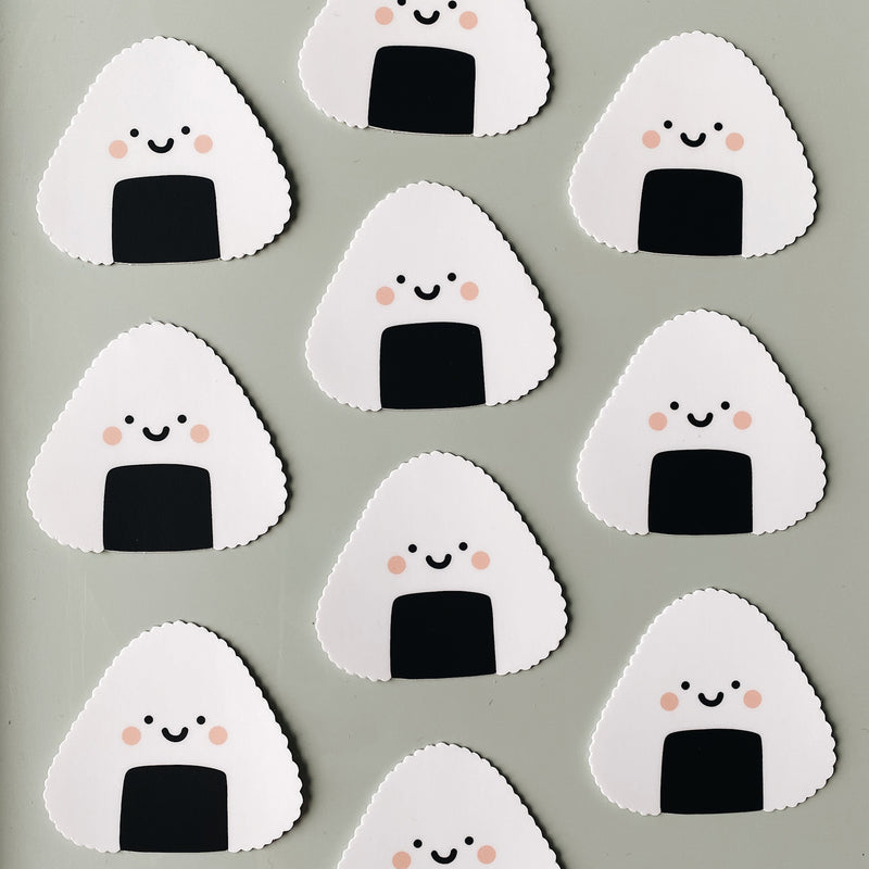Onigiri Decal Sticker
