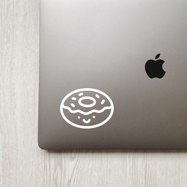 Cute Donut Decal