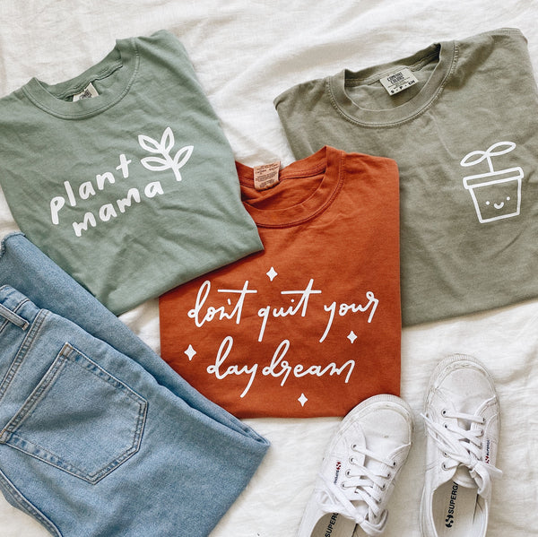 Cute Sprout Plant Graphic Tee