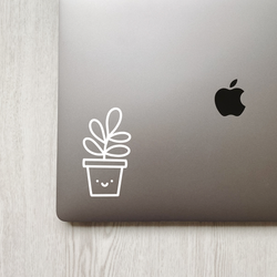 Cute Succulent Plant Decal
