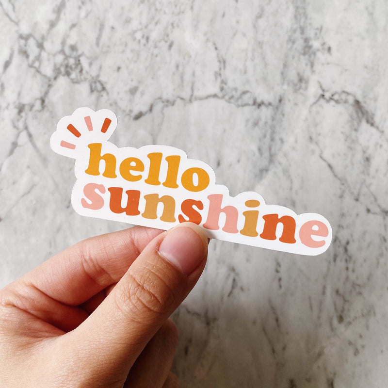 Hello Sunshine Sticker