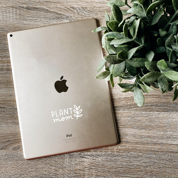 Plant Mom Decal