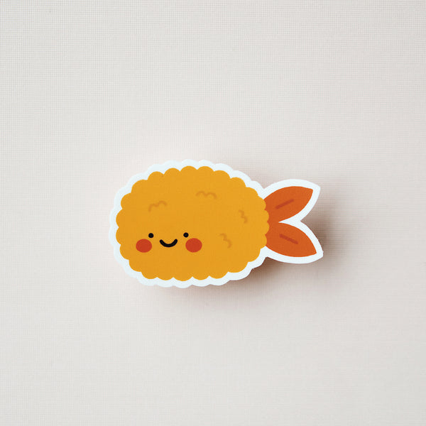 Shrimp Tempura Decal Sticker
