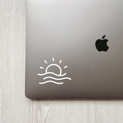 Sun & Sea Decal