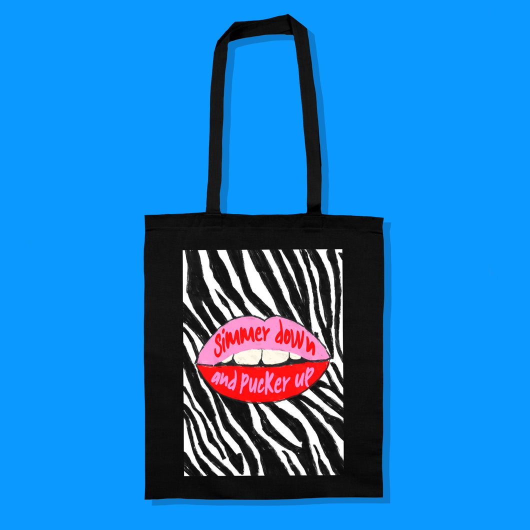 Simmer Down and Pucker Up Bag