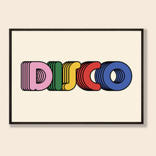 Load image into Gallery viewer, Disco Print