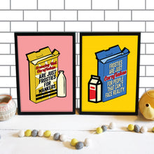 Load image into Gallery viewer, Crunchy Nut / Frosties Peep Show Print Duo