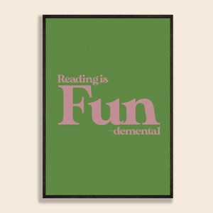 Reading is FUNdemental Print