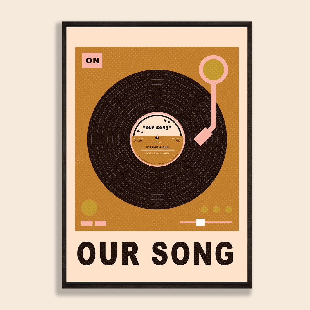 Our Song / First Dance Print