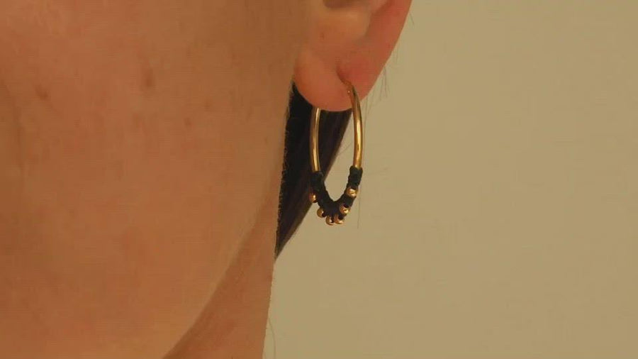 CREOLE SMALL GOLD EARRING