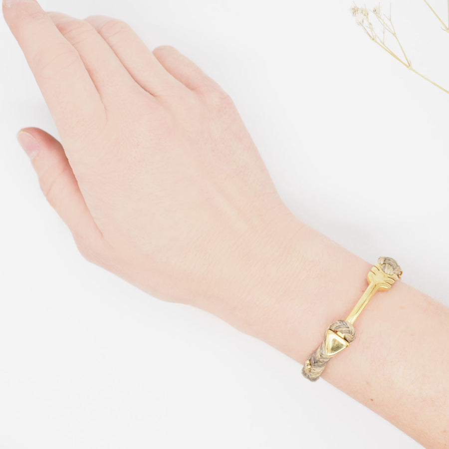 PULSERA BIG ARROW ORO