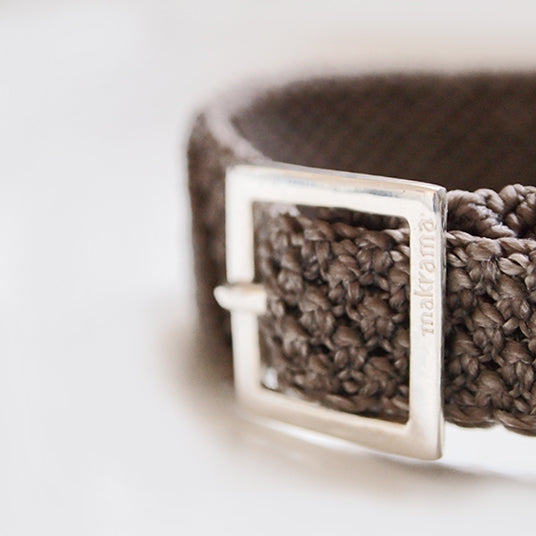 PULSERA DIAGONAL BIG PIEDRA