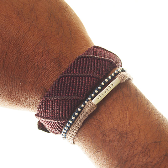 PULSERA DIAGONAL RELIEVE