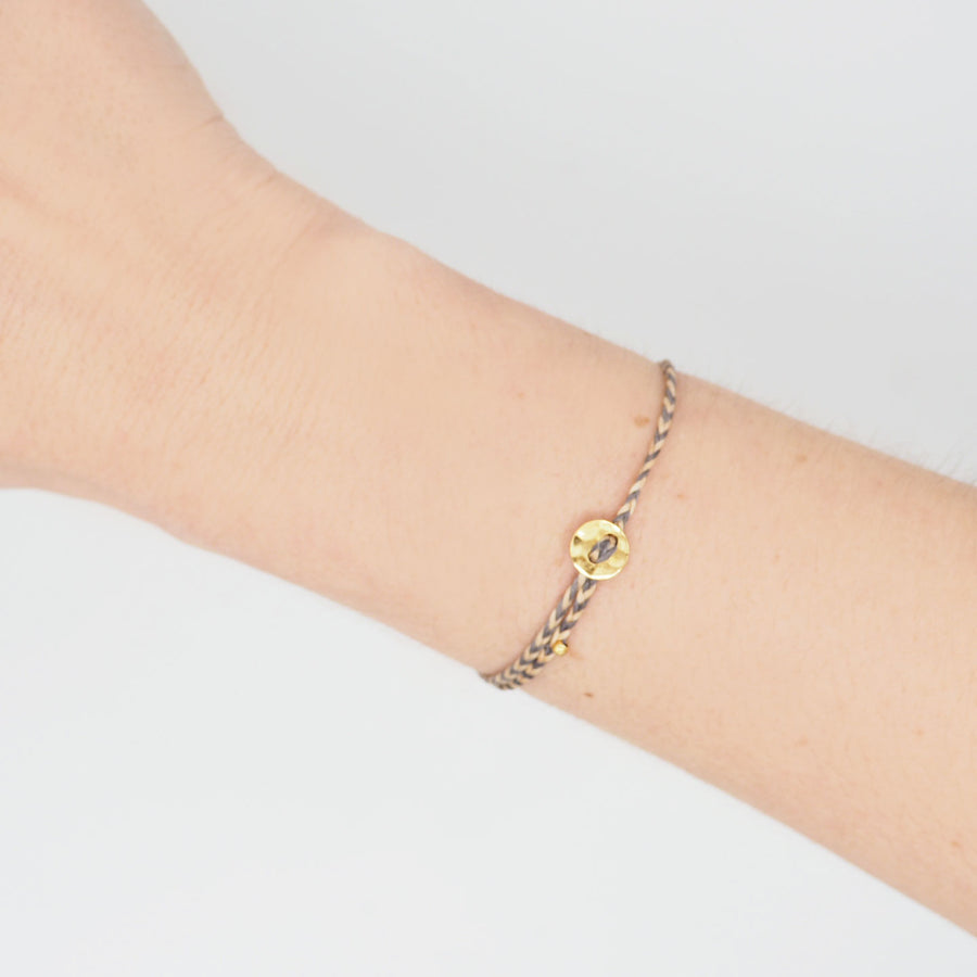 GOLD LITTLE MOON BRACELET