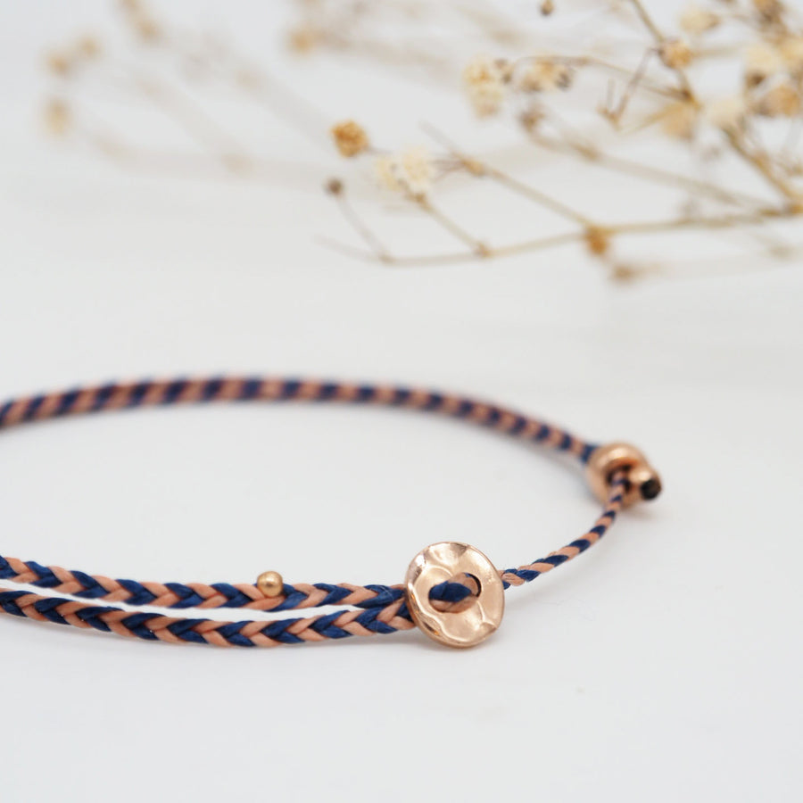 PULSERA LITTLE MOON ORO ROSA