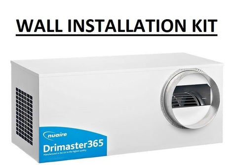 Nuaire Drimaster 365 Wall Installation Kit Positive Input Ventilation