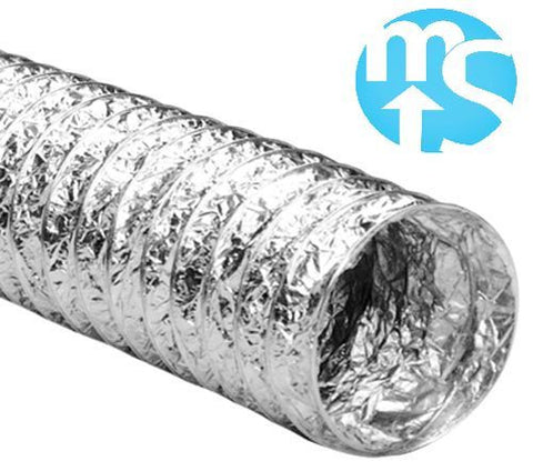 "100mm 4"" Aluminium Flexible Ducting *5 metre length*"