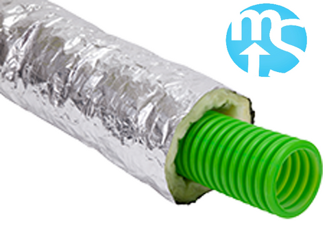 75mm Round Radial Insulated Sleeve x 10m Roll