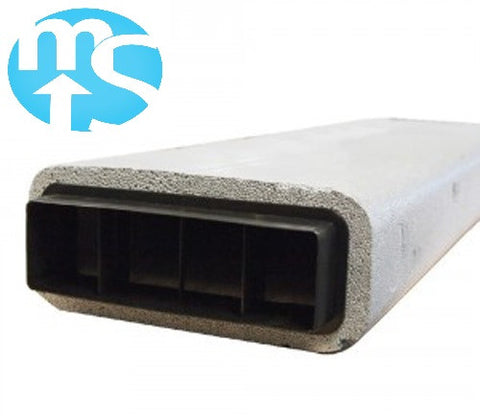 Nuaire Ductmaster Thermal 204 x 60mm Thermal Duct *1 metre length*