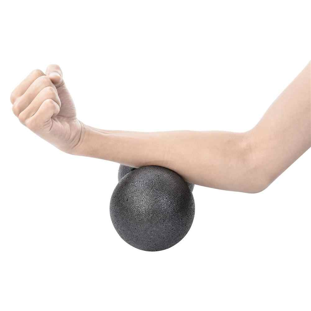 Peanut Shaped Exercise Ball for Muscle Pain