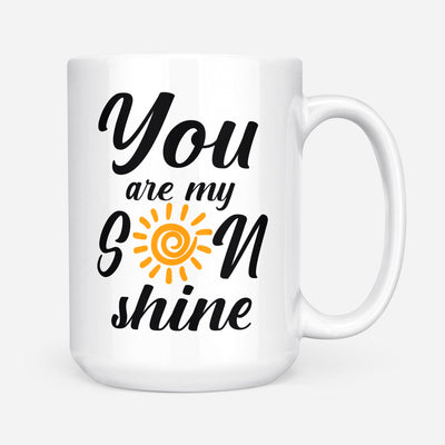 To my son coffee mug - The best by far is you - Gift for Son from Mother - Birthday Gifts, meaningful gifts - Mug with quotes - 760
