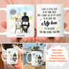 Personalized Custom Coffee Mug - All of my lasts to be with you - Wedding Mug, Personalized Engagement Gifts, Newlywed Gifts - 5848